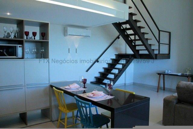 Lindo Flat mobiliado e decorado - Cobertura - Santa Fé - Foto 16