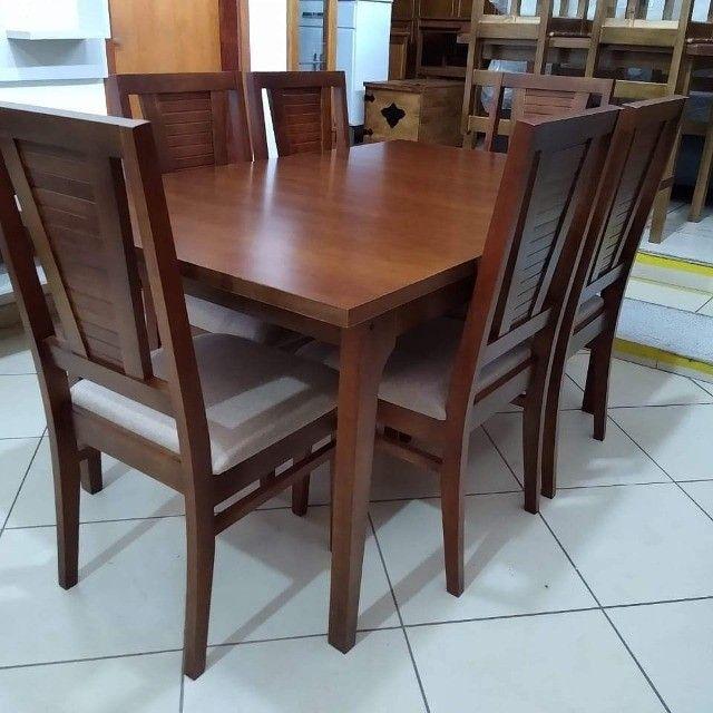 Mesa de jantar 6 cadeiras - Foto 2