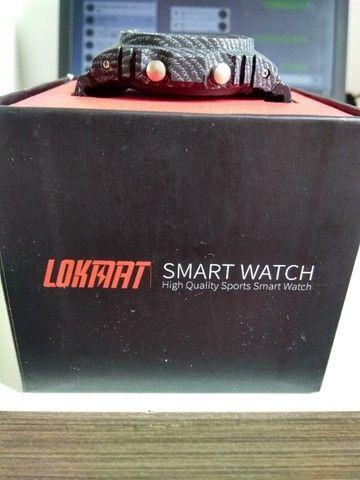 relógio smartwatch lokmat - Foto 3