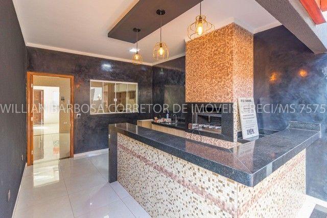 Casa com área de lazer completa e alto padrão de acabamento no Jd das Nações! - Foto 10