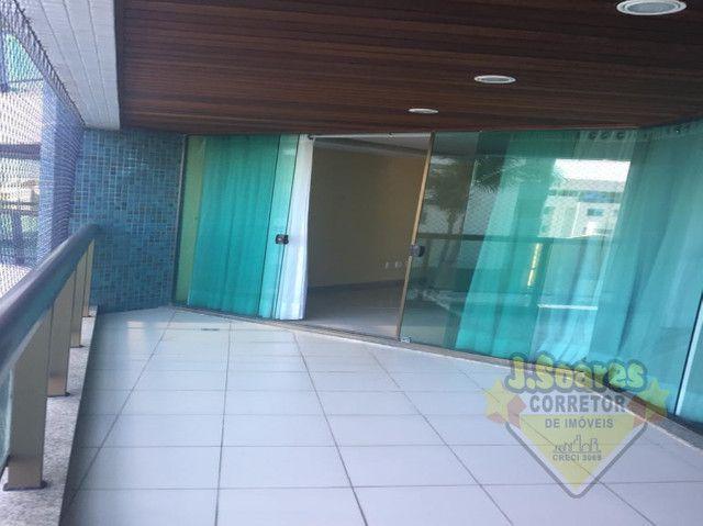 Ponta de Campina, Mobiliado, 4 suítes, 206m², R$ 5000 C/Cond, Aluguel,Apartamento,Cabedelo - Foto 12