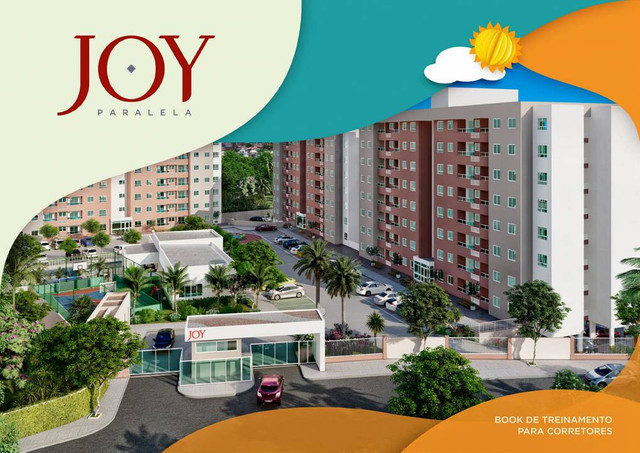Apartamento para venda possui 56m² com 2 quartos em Itapuã - Salvador - BA - Foto 3