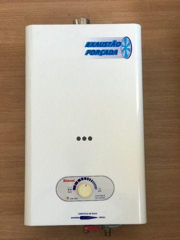 Aquecedor De Água A Gás - Rinnai - 16 Lts - Foto 4