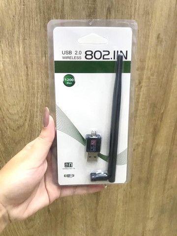 Antena wifi Wireless USB 2.0 para notebook e pc