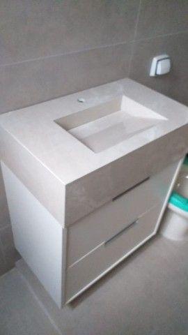 Kit pia de porcelanato e armário sobe medida - Foto 3