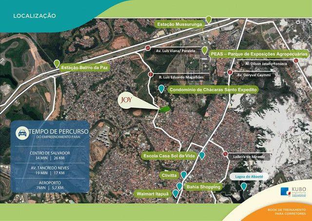 Apartamento para venda possui 56m² com 2 quartos em Itapuã - Salvador - BA - Foto 4