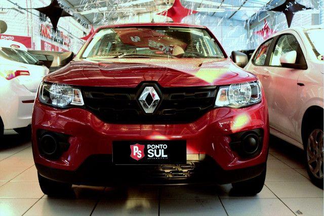 """:) Renault Kwid Zen 1.0 12V Flex """" Completo """" Baixo km - 2020 - Foto 2"""