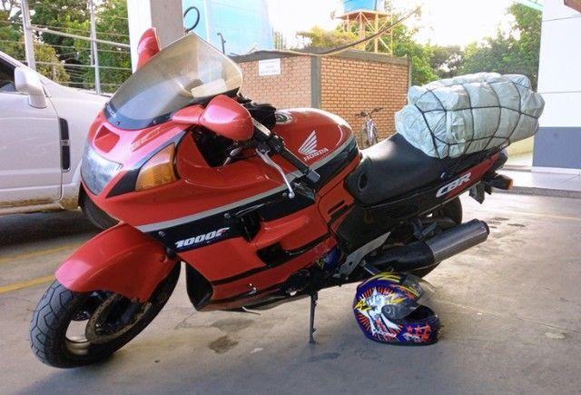 Honda CBR 1000F 1993 Vermelha, Raridade, Toda original - Foto 6