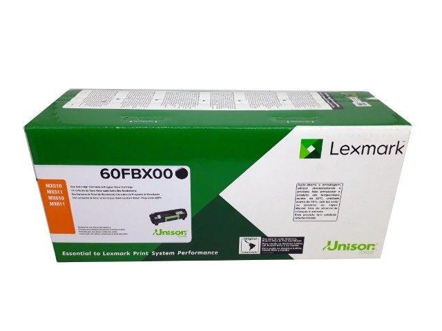 Toner Lexmark 60FBX00 / 60BX Original Novo