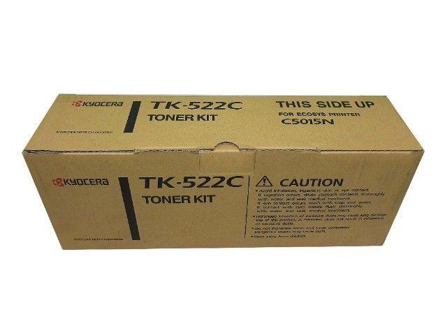 Toner Kyocera TK522 Cyan Original Novo