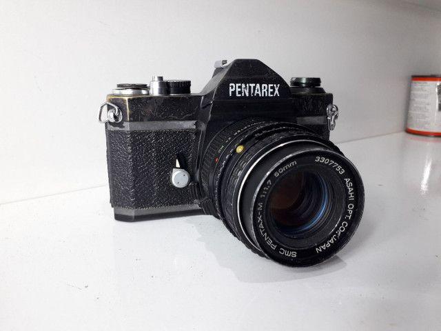 Câmera fotográfica antiga Pantarex  *aceito Cartão