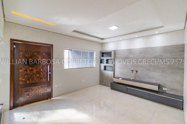 Casa com área de lazer completa e alto padrão de acabamento no Jd das Nações! - Foto 5