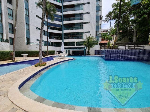 Ponta de Campina, Mobiliado, 4 suítes, 206m², R$ 5000 C/Cond, Aluguel,Apartamento,Cabedelo - Foto 16