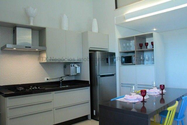 Lindo Flat mobiliado e decorado - Cobertura - Santa Fé - Foto 19
