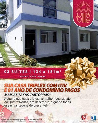 Casa Triplex para venda Com 134 metros quadrados com 3 Suítes em Itapuã - Salvador - BA - Foto 3