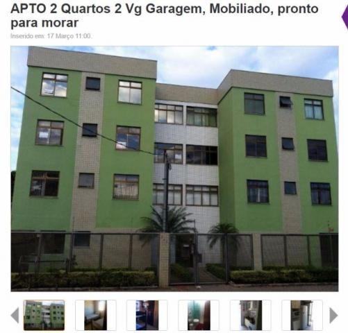 Apartamento 2 quartos 2 vgs, todo mobiliado, pronto p/ morar (ao lado aeroporto Pampulha)