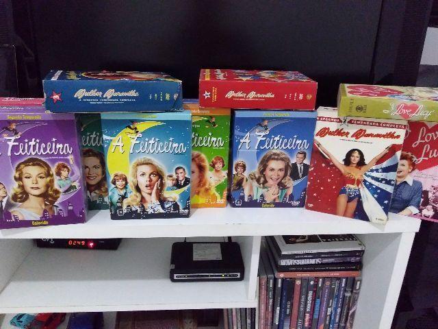 DVDs de séries antigas /fora de catálogo para colecionador