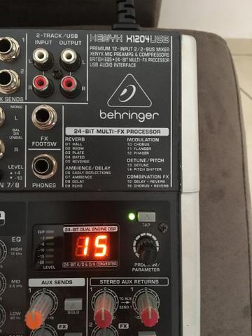 VENDO Mesa De Som Behringer Xenyx X1204usb Mixer Usb Bivolt