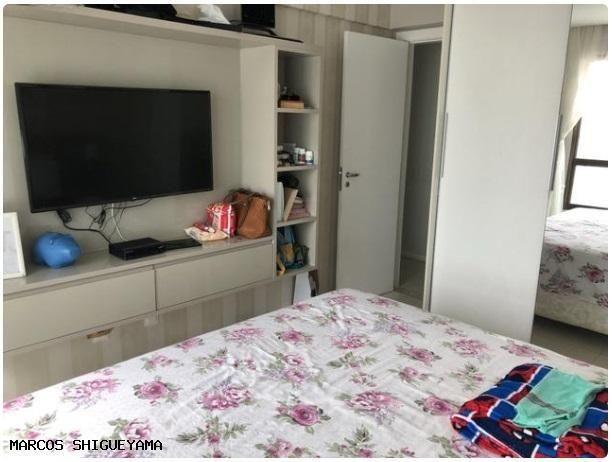 Apartamento com 3/4 (2 suítes) + dependência. armários e painéis primeira linha! VG1620 - Foto 12