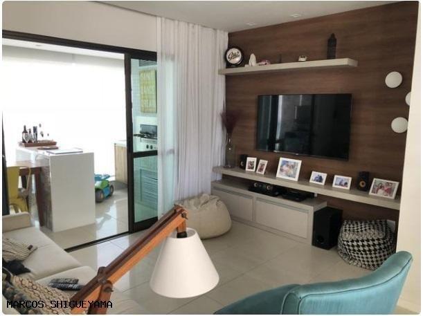 Apartamento com 3/4 (2 suítes) + dependência. armários e painéis primeira linha! VG1620