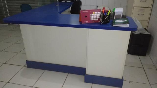 Mesa escritorio em L - Foto 3