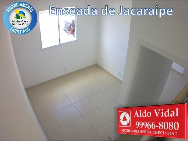 ARV 166- Apto 2 Q, Varanda,Suíte,Piscina em Jacaraipe próximo a praia - Foto 9