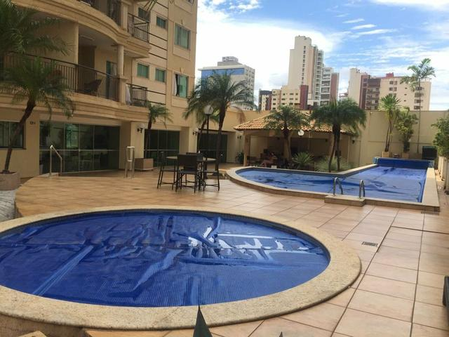 Apart 3 suítes de alto padrão lazer compl lazer completo residencial Dubai Aceita permuta