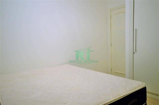 Cobertura na praia, confortável, 3 dormitórios sendo 1 suíte, 2 vagas, pitangueiras, guaru - Foto 7