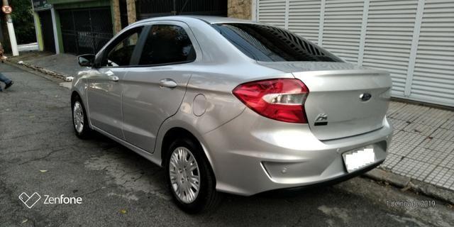 Ford Ká 1.5 SE Plus Sedan - Automático - Prata 2019-(Único Dono) - Foto 4