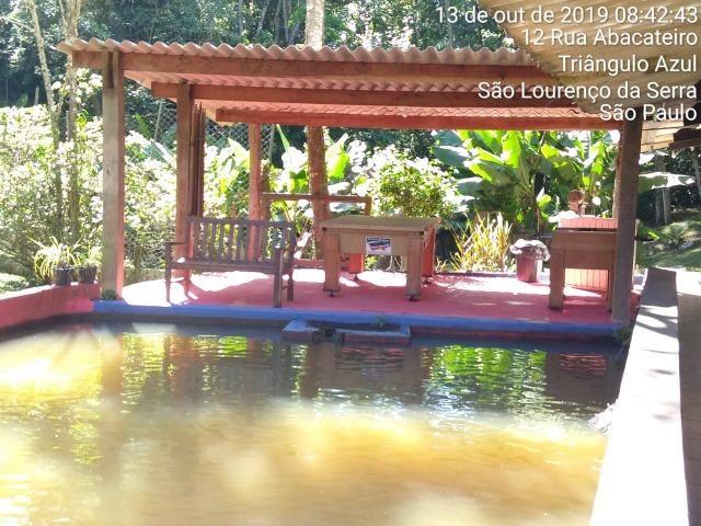 Chácara para festa com piscina,cachoeira,campo de futebol,pesqueiro - Foto 4