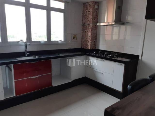 Apartamento com 3 dormitórios para alugar, 135 m² por r$ 5.000/mês - vila léa - santo andr - Foto 7