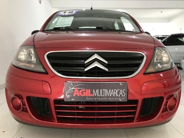 Citroen C3 1.4 Glx Único dono 2012 Vermelho