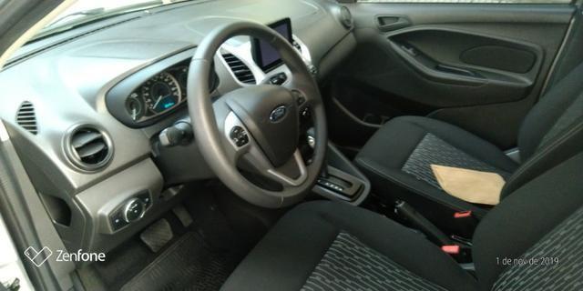 Ford Ká 1.5 SE Plus Sedan - Automático - Prata 2019-(Único Dono) - Foto 12