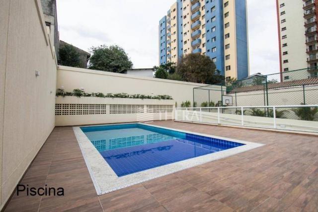 Apartamento com 2 dormitórios para alugar, 59 m² por r$ 1.350,00/mês - santa teresinha - s - Foto 2