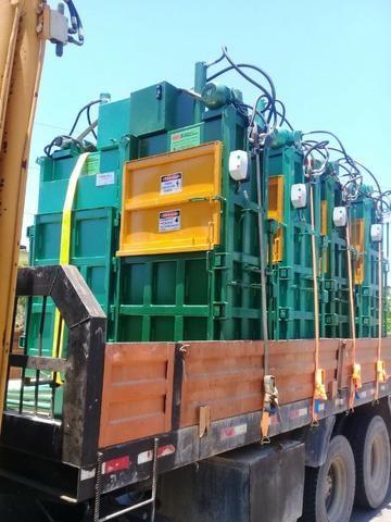 Enfardadeira Hidráulica Vertical para Resíduos - Foto 2