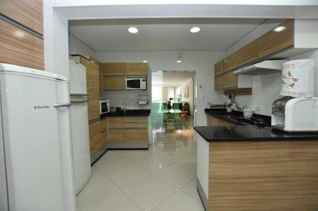 Apartamento com 4 dormitórios à venda, 190 m² - Praia das Pitangueiras - Guarujá/SP - Foto 13
