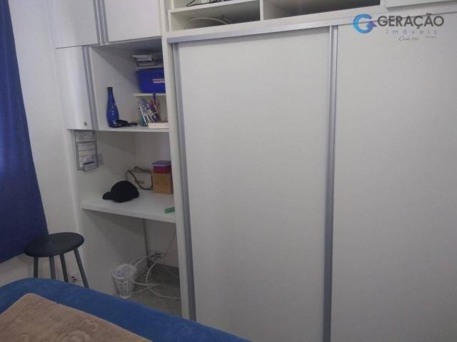 Apartamento com 3 dormitórios para alugar, 70 m² por R$ 1.600/mês - Centro - São José dos  - Foto 10