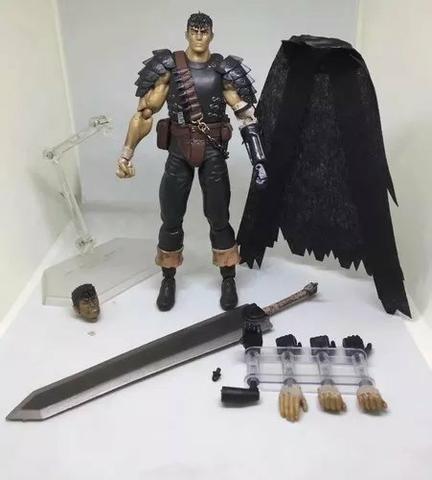 Berserk - Guts Black Swordsman Ver. Repaint Ed - Figma 359 - Foto 5