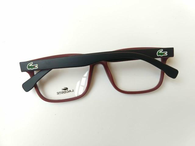 c55f9f23548d1 Lacoste armação óculos grau masculino acetato - Bijouterias ...