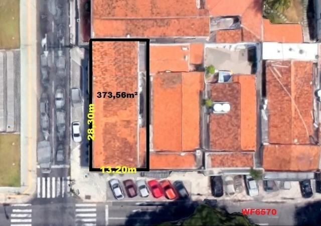 PT0022 Loja no Meireles, prédio de esquina, 8 vagas rotativas, 373m² construído, Meireles - Foto 4