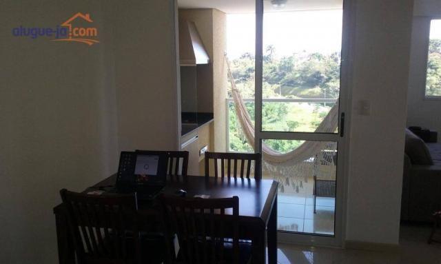 Lindo apartamento 2 dormitórios com varanda gourmet - Foto 3