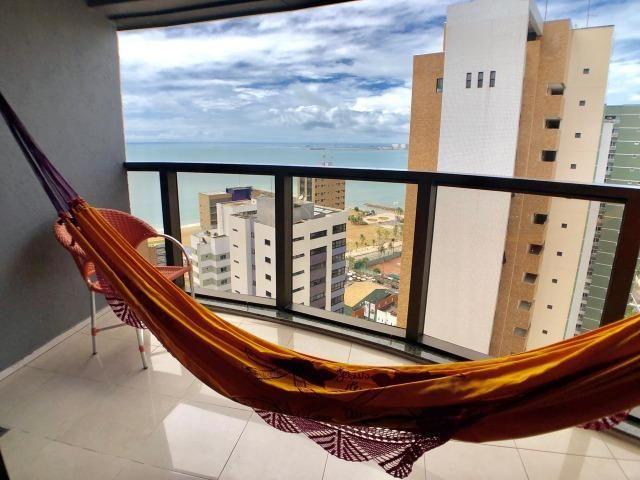 Cobertura duplex na Praia de Iracema com 130m com Vista para Espetacular - Foto 4
