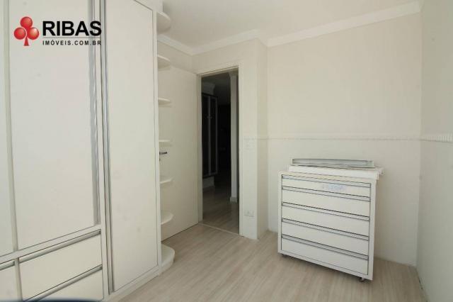 Apartamento com 3 dormitórios para alugar, 78 m² por r$ 2.000,00/mês - capão raso - curiti - Foto 15