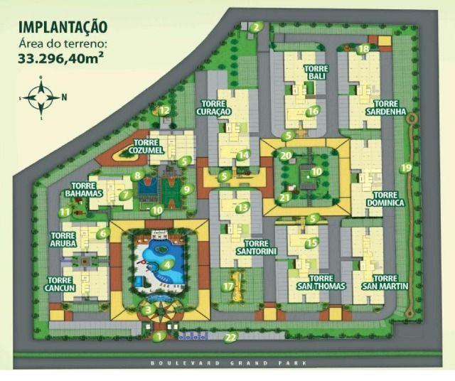 Costa do Araçagy - Feirão Grand Parque. Apartamento com suíte e elevador no Araçagy - Foto 17