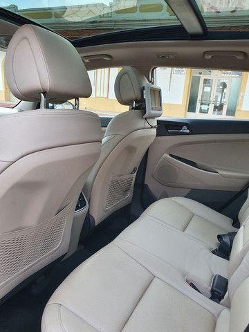 New Tucson GLS 1.6 turbo + interior bege + teto panorâmico - Foto 16