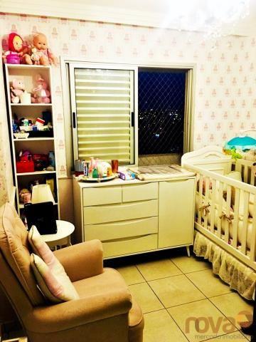 Apartamento à venda com 3 dormitórios em Parque amazônia, Goiânia cod:NOV235844 - Foto 10