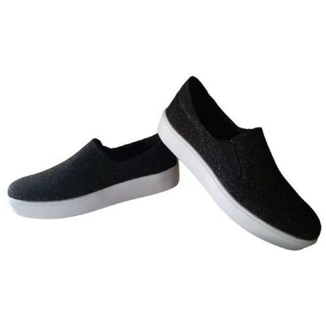Sapato sllepp  gliter vegano - Foto 6