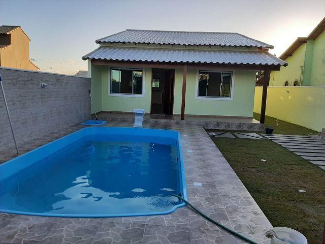 Linda Casa com 3 quartos e piscina. R$ 210.000,00 (Entrada) - Foto 18