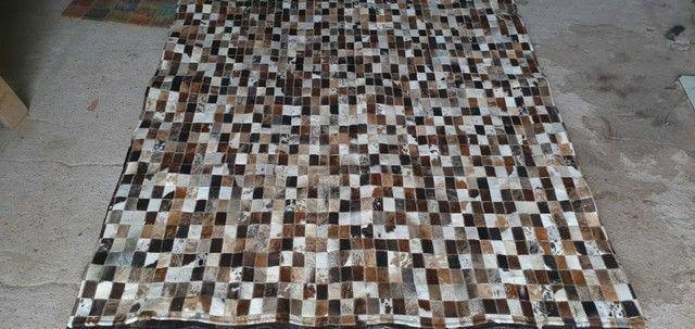 Tapetes de couro legítimo novos - Foto 5
