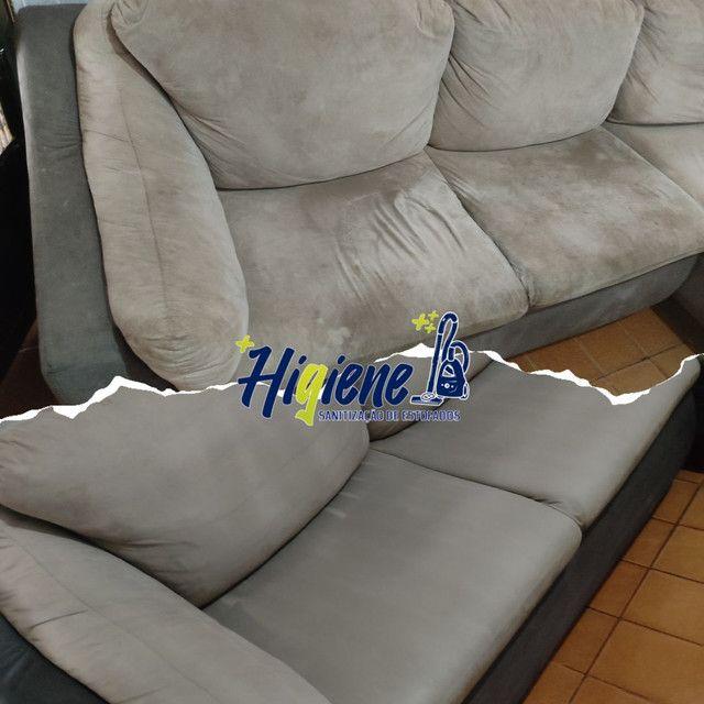 Limpeza de sofá  - Foto 3